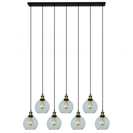 Lámpara de Techo de Cristal Lumo 7 Elementos LAMPARAS 169,99 €