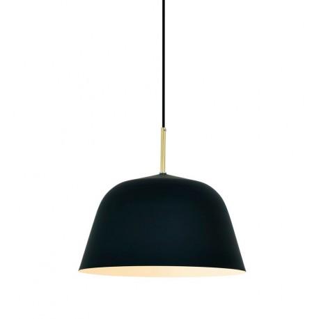 Lámpara de Techo Moderna Bari Negro Mate LAMPARAS 49,99 €