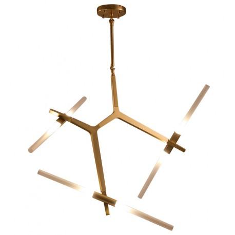 Lampara de suspensión Infinity 3 brazos dorada LÁMPARAS SALÓN 229,99 €