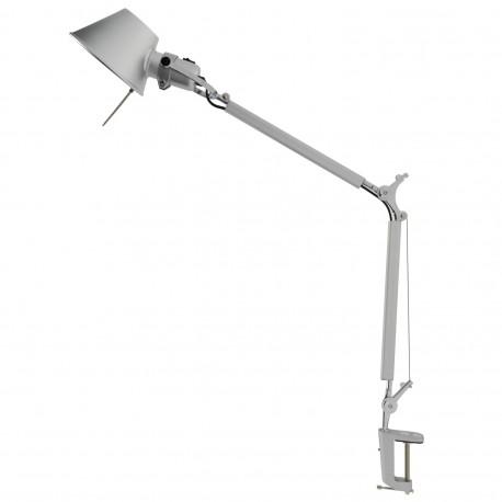 Lámpara Flexo de Pinza Bauhaus Plateado LAMPARAS DE ESCRITORIO