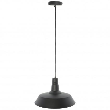 Lámpara de Techo Industrial Berlín Negro Mate LÁMPARAS INDUSTRIALES 39,99 €