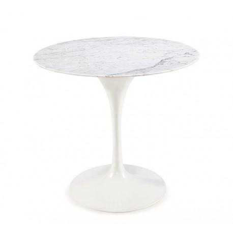 Mesa de comedor tulip con tapa de marmol de 80cm de diametro Mesas de comedor de diseño 999,99 €