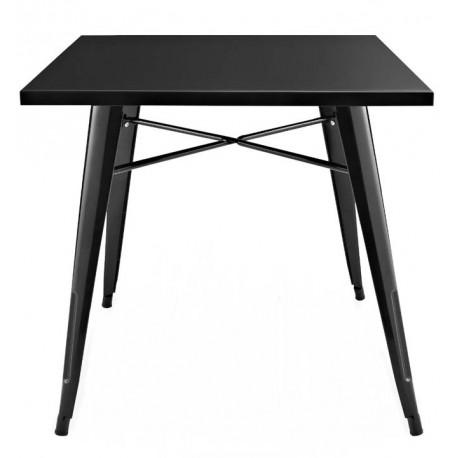 Mesa de comedor metálica tolix negra Mesas de comedor de diseño 99,99 €