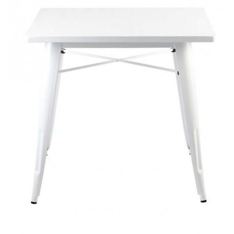 Mesa de comedor metalica tolix blanca Mesas de comedor de diseño 99,99 €