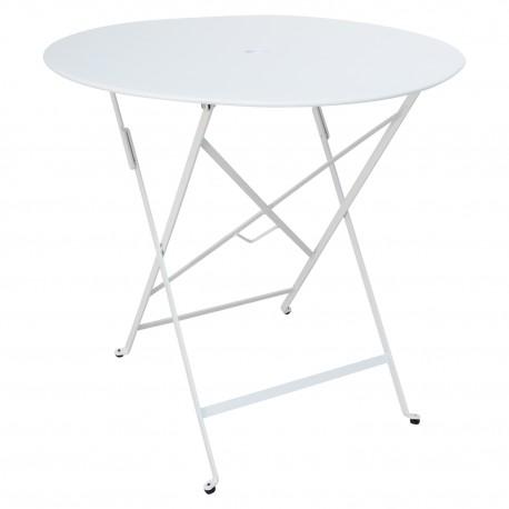 Mesa Blanca exterior plegable Mesas de comedor de diseño 99,99 €