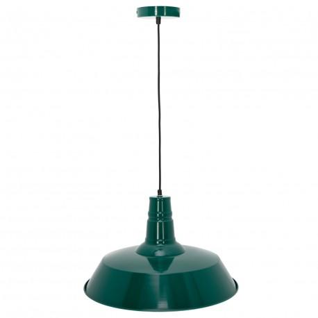 Lámpara de Techo Industrial Berlín Verde LÁMPARAS SALÓN 41,99 €