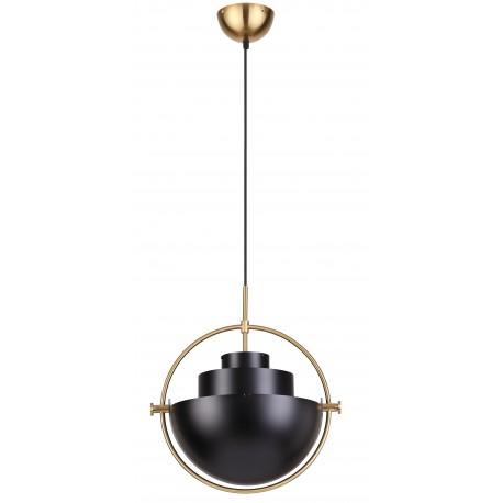 Lámpara de Techo de Diseño Marianne Negra LÁMPARAS SALÓN