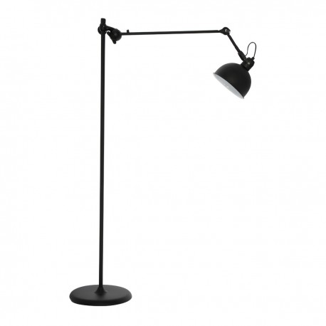 Lámpara de Pie de Diseño Industrial Albin Negro LÁMPARAS DE PIE 179,99 €