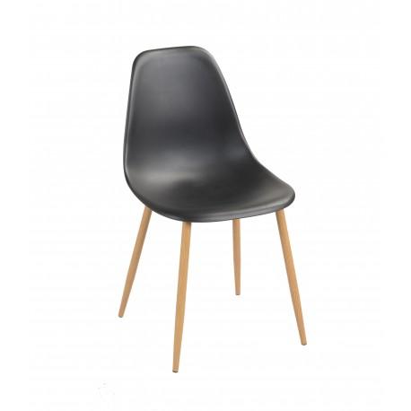 Silla de Diseño Negra Are Sillas modernas de diseño 29,99 €