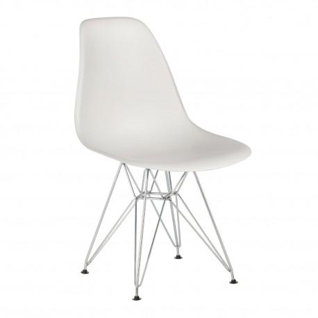 Pack 4 sillas blanco\n IMS modelo eiffel Sillas modernas de diseño