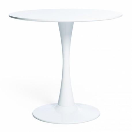 Mesa de Comedor Redonda Blanca 90cm Mesas de comedor de diseño