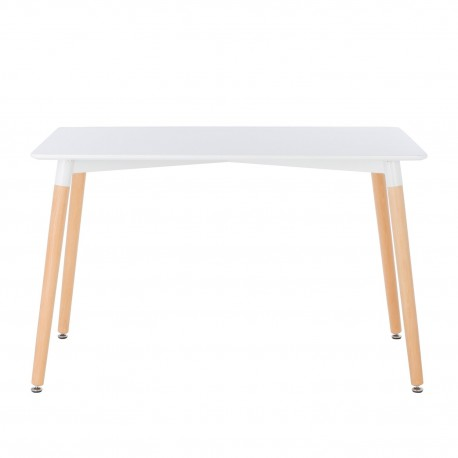 Mesa de comedor Zafra patas de madera Mesas de comedor de diseño