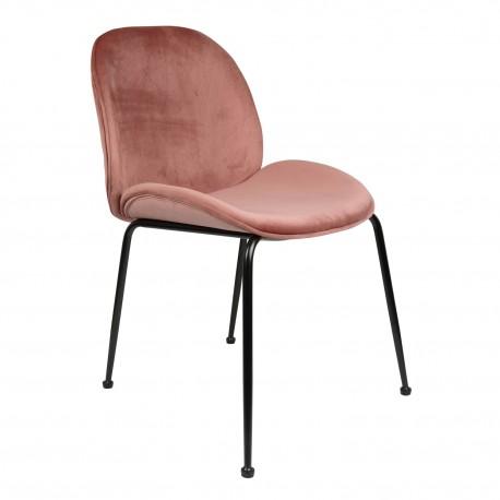 Pack de 2 sillasde terciopelo mush Sillas modernas de diseño