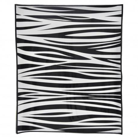 Alfombra vinílica zebra Alfombras