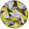 Añfombra circular vinílica Rombos Inicio
