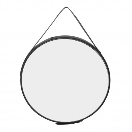 Espejo de pared cuero Espejos