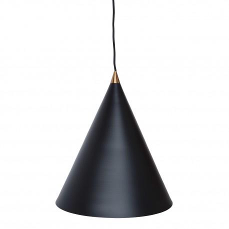 Lampe suspension Oval Noire Lamparas comedor