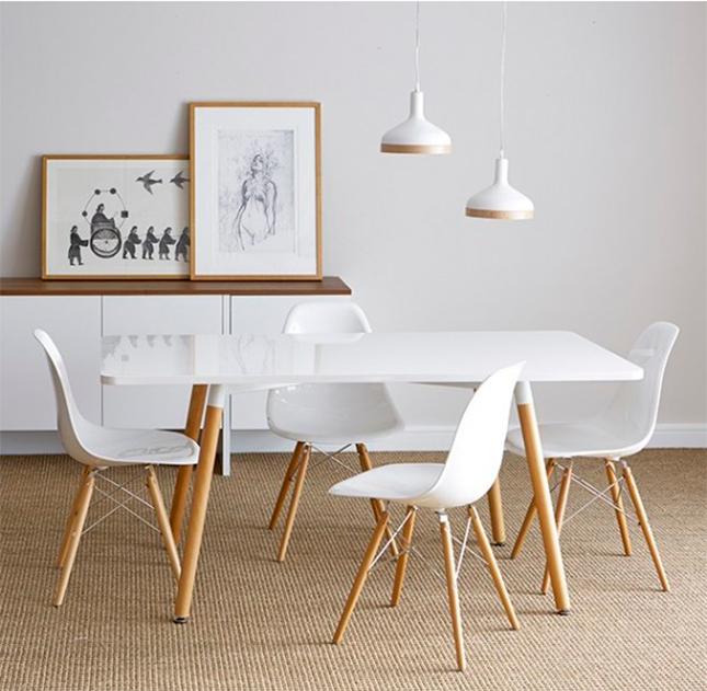 Mesas imprescindibles el centro neur lgico de la decoraci n for Mesa comedor estilo nordico