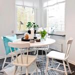 Mesa de comedor estilo escandinavo