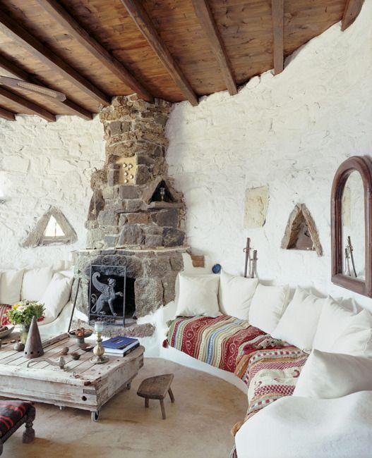 El estilo griego nos acerca al mar - Casas del mediterraneo valencia ...