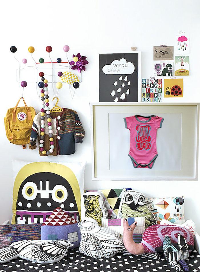 DIY: Enmarcar la ropa de tu bebé. ¡Decora con recuerdos y amor de madre!