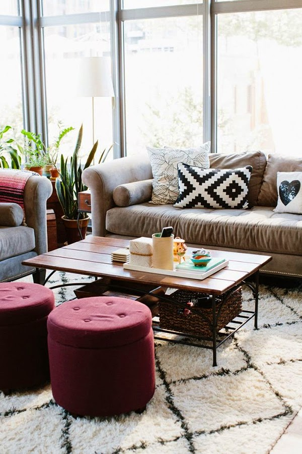 Marsala el color pantone 2015 en versi n home decor for Best home decor blogs 2015