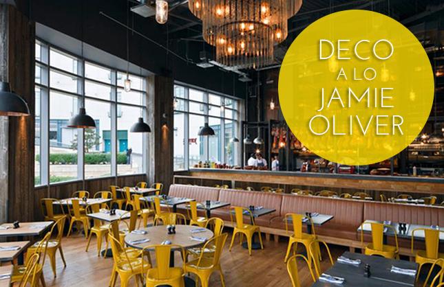 Decoraci n industrial a lo jamie oliver con iconscorner for Cocina de jamie oliver
