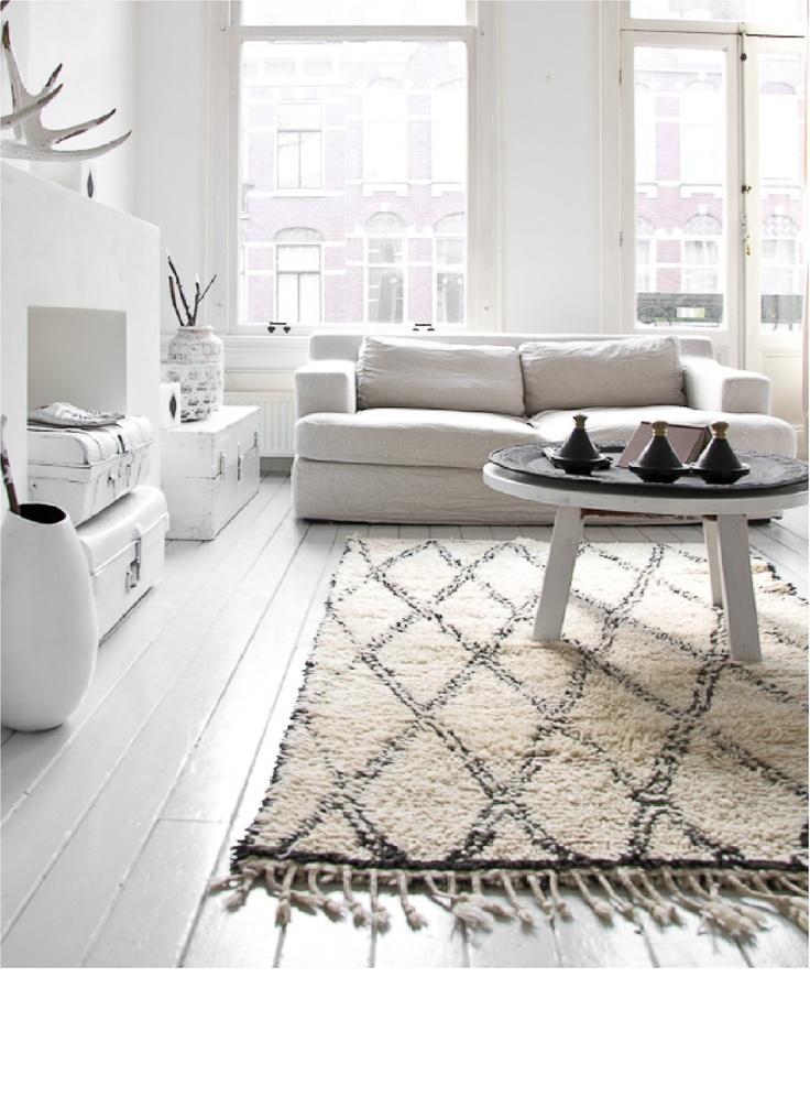 Inspiraci n en alfombras beni ouarain traslada tu casa al for Decoracion hogar nordico