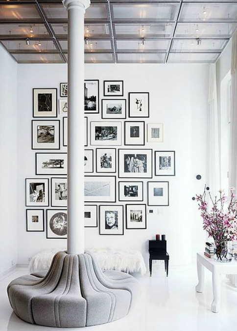 Columnas que cuentan int gralas en tu decoraci n de interior - Columnas decorativas interiores ...