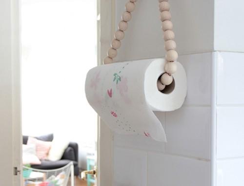 DIY Hanger papel cocina Iconscorner