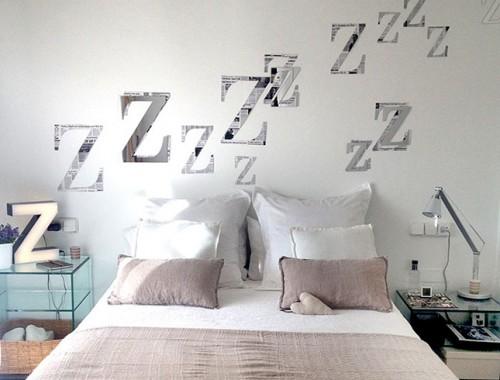 DIY_letras z para dormitorio