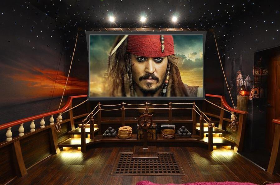 Al cine en casa vive tu propia experiencia hollywoodiense - Fotos salas de cine en casa ...