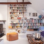Decorar con libros-inspiración-decoración-Iconscorner