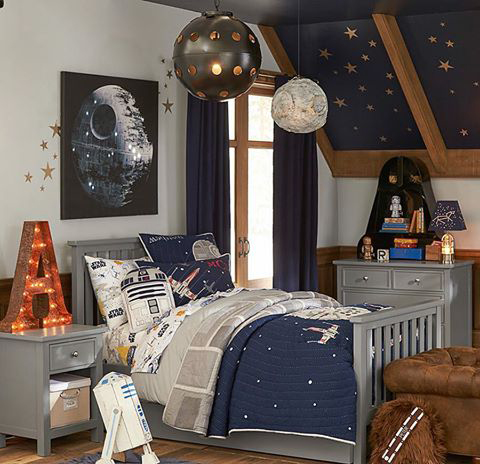 Casas para fans de star wars la decoraci n que despertar for Decoracion de cuarto star wars