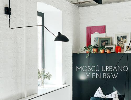 Moscú urbano y blanco y negro inspiración deco IconsCorner