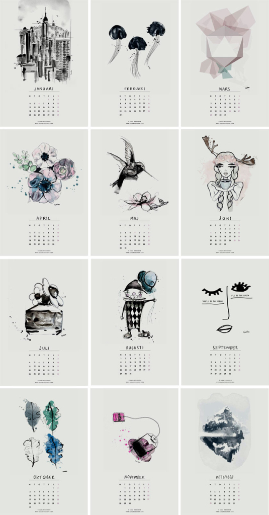 Calendario-2016-sara-woodrow