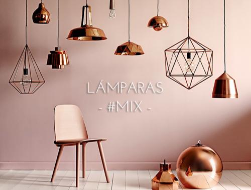 Lámparas mix combinar lámparas decoración IconsCorner