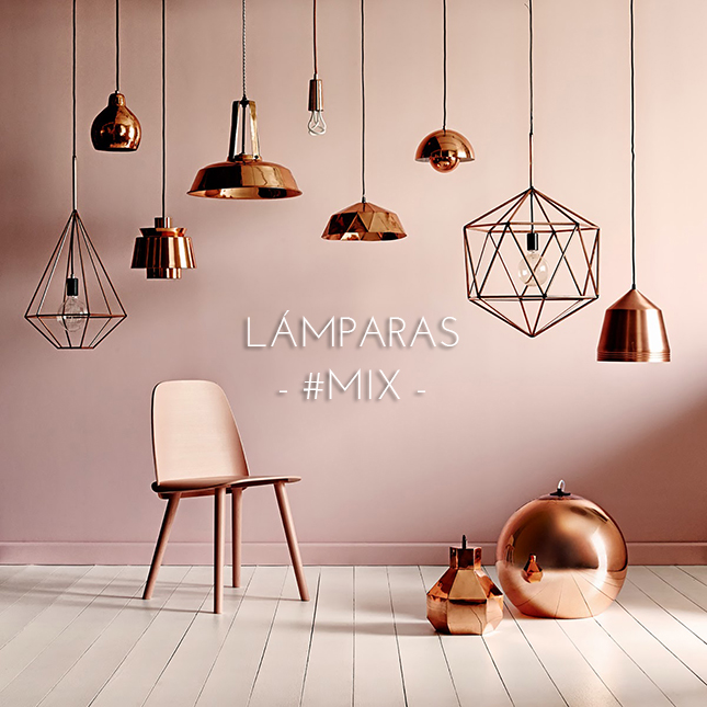 Lámparas mix combinar lámparas decoración IconsCorner