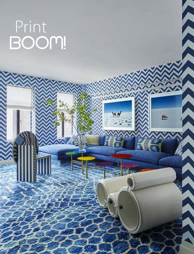 Print BOOM decoración con estampados interiorismo Iconscorner
