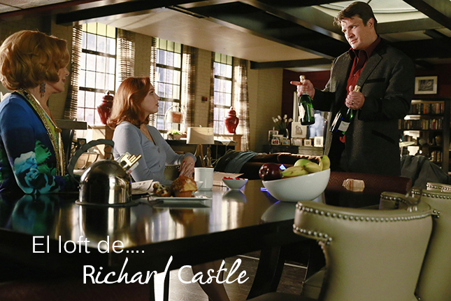 El loft de Richard Castle decoracion interiorismo IconsCorner