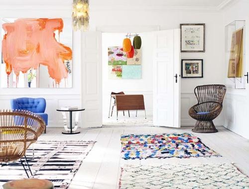 MIX&MATCH combinar alfombras multi formato decoración IconsCorner