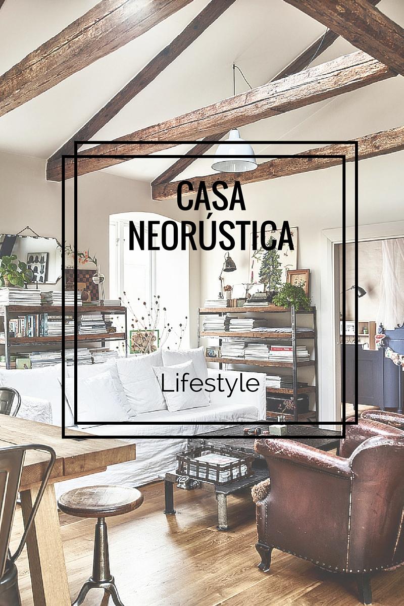 Apartamento neorustico decoracion lifestyle IconsCorner