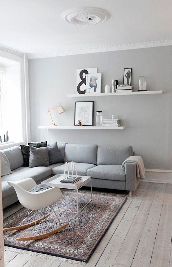 Trend ALERT decoracin blanco negro GRIS