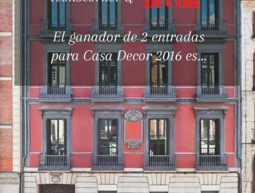 Casa Decor 2016 IconsCorner decoracion Ganador
