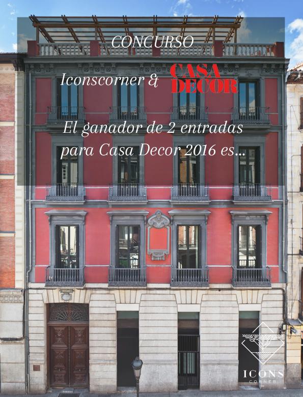 Casa Decor 2016 IconsCorner decoracion Ganador