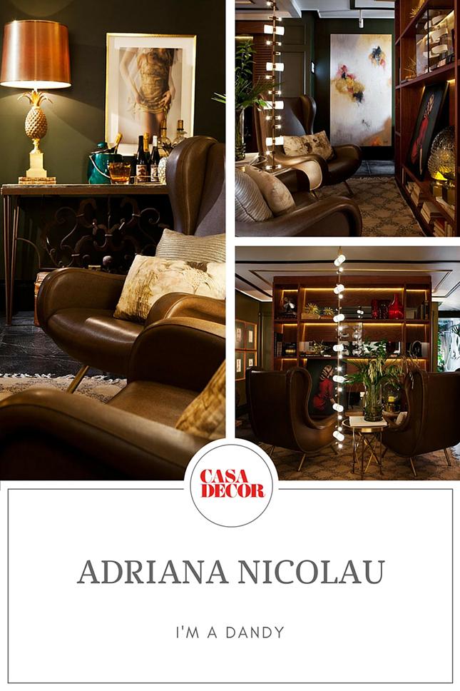 Casa Decor Madrid 2016 Adriana Nicolay Im a Dandy interiorismo