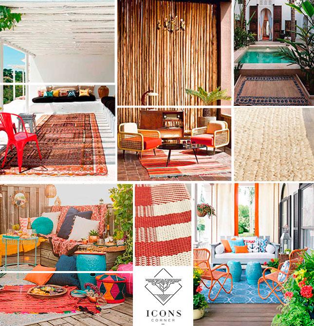 Alfombras de exterior decora tu terraza con iconscorner - Alfombras para terrazas ...