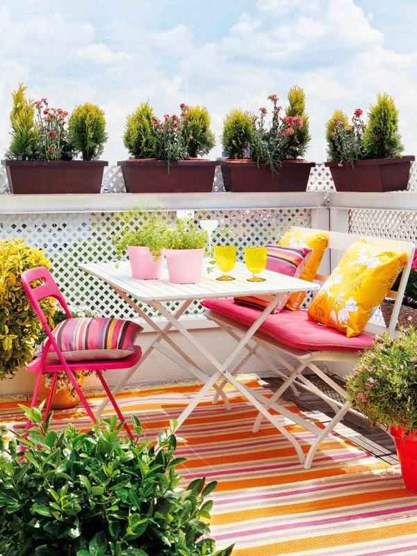 Ideas decoración terrazas 22