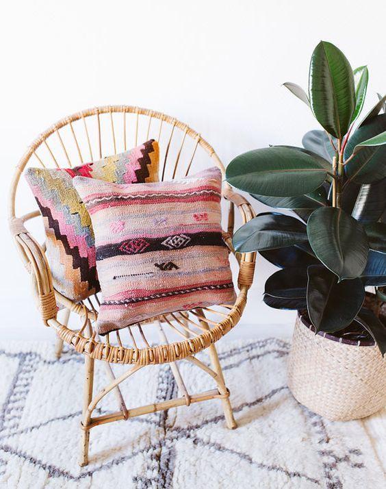 Cojines para sillas cojines tnicos para exterior - Cojines muebles exterior ...