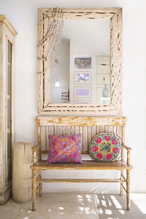 Muebles en lugares imposibles cojines tnicos para sillas - Cojines muebles exterior ...